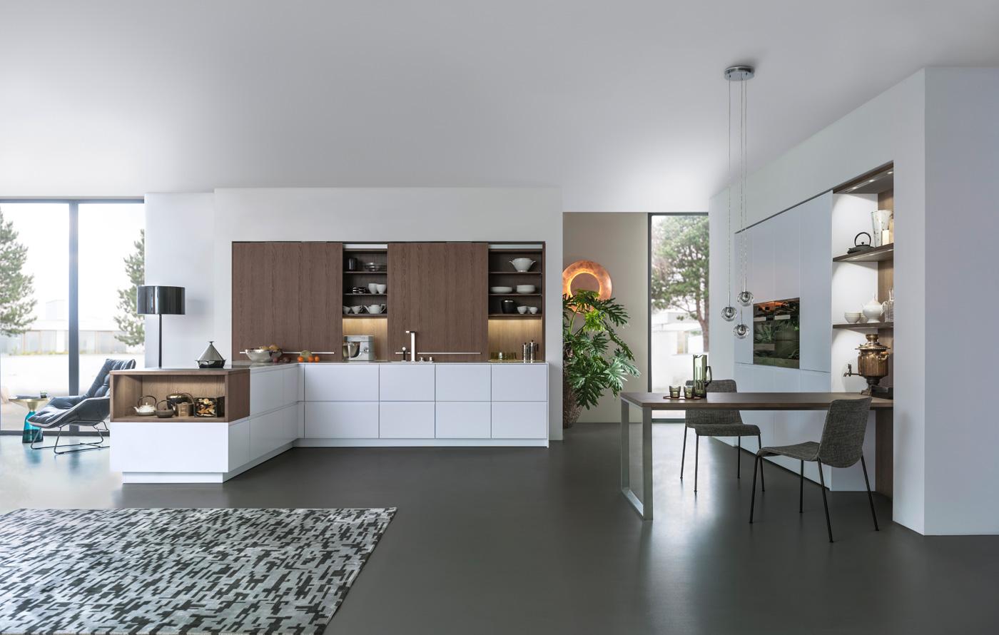 leicht k chen moderne k chen der extraklasse. Black Bedroom Furniture Sets. Home Design Ideas